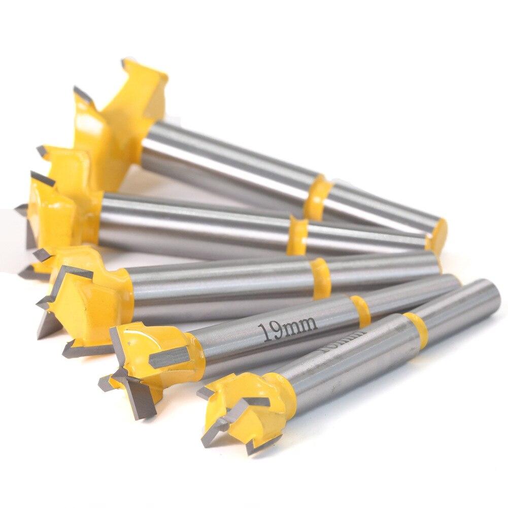 1 pc 38mm-60mm forstner dicas ferramentas para trabalhar madeira buraco viu cortador dobradiça perfuração brocas haste redonda carboneto de tungstênio cutte