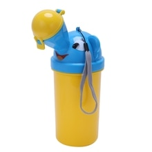 Cute Baby Boy Portable Urinal Travel Car Toilet Kids Vehicular Potty