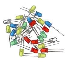 Condensador electrolítico juego de cerámica resistencia Led diodos Paquete de transistores DIY surtido de componentes electrónicos Kits con caja