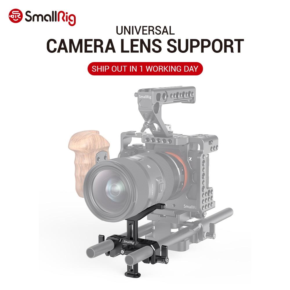 Adaptador de lente de cámara DSLR SmallRig ajustable 15mm LWS soporte de lente Universal para lente larga soporte de cámara 2681