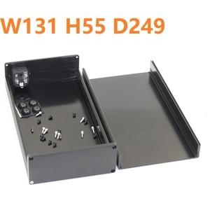 Шасси для наушников мини-размера DIY усилитель для наушников чехол усилитель питания W92 H47 D158 комплекты предварительного усилителя Hifi