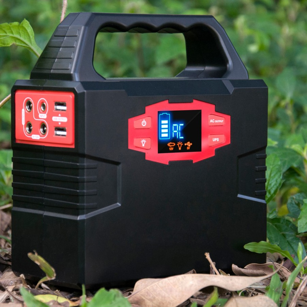 Best Selling Portable Power Station 150Wh Solar Generator 100W Output Outdoor Camping Lithium Ion Batteries