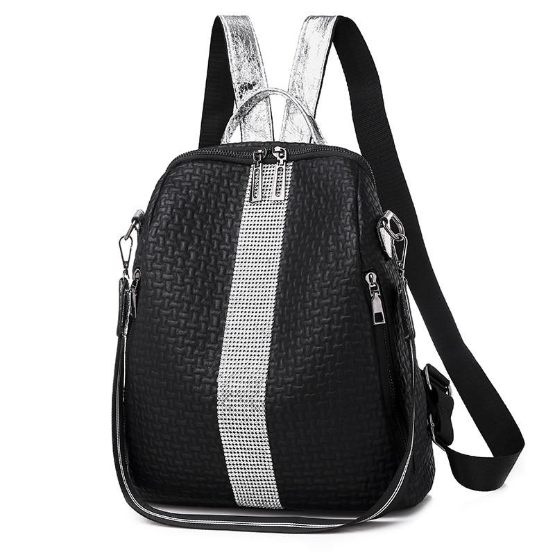 Вместительная школьная сумка threepea, многофункциональные женские рюкзаки, сумки на плечо, модный летний рюкзак, кожаные женские рюкзаки