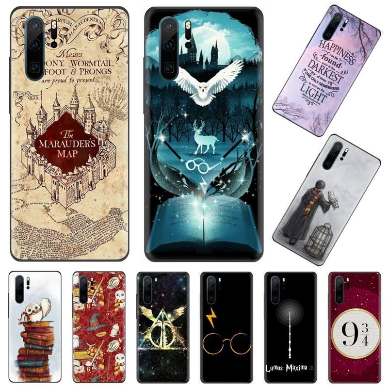 Para sempre Harries Hogwarts Potter Comic phone Case Shell capa Funda Para Huawei P9 P10 P20 P30 Lite 2016 2017 2019 pro plus P inteligente