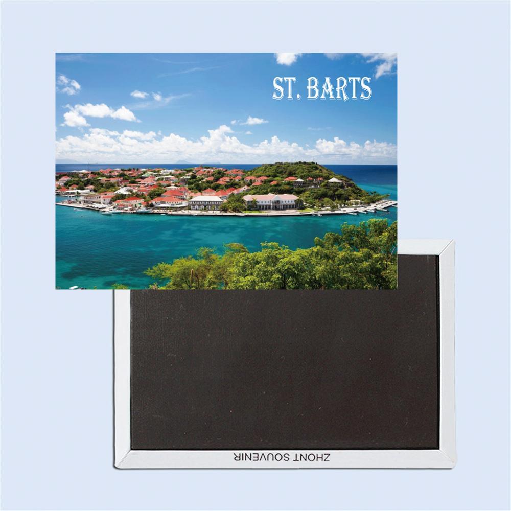 Сувениры для путешествий St. Barts, креативный холодильник 26340, жесткие волшебные магниты на холодильник, волшебные магниты для фото