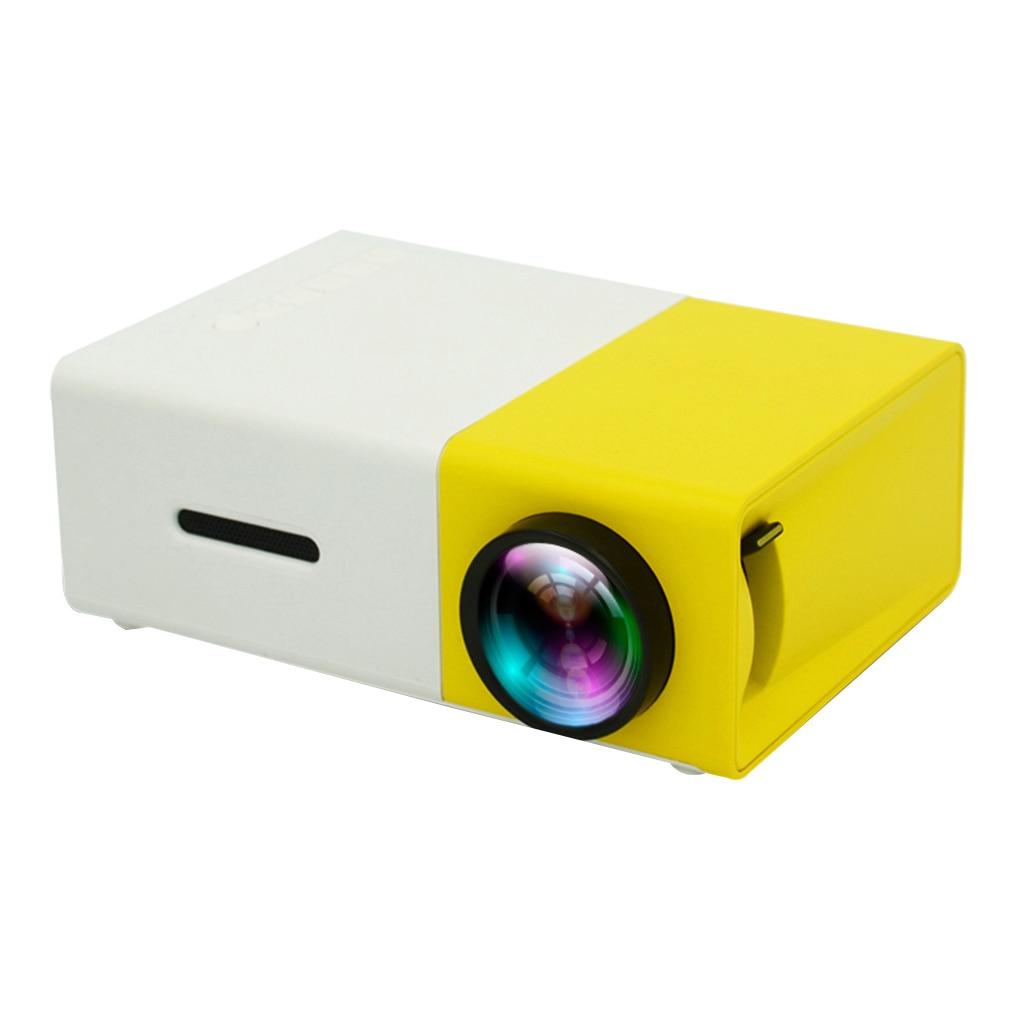 YG300 برو العارض LED 800 لومينز 3.5 مللي متر الصوت 320x240 بكسل HD 1080P LED USB جهاز عرض صغير المنزل مشغل الوسائط
