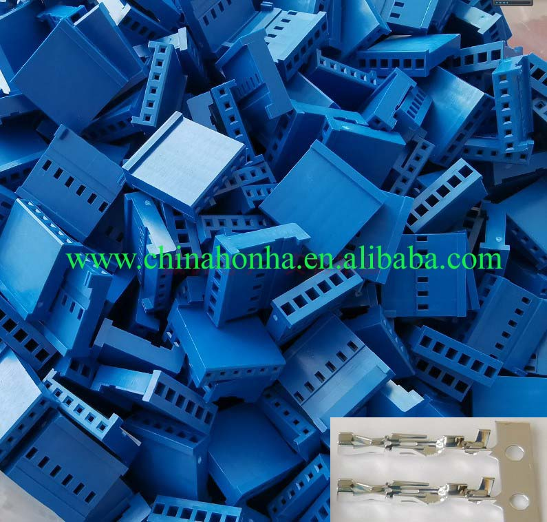 HE14 series connector plastic shell 6-pin instead of 281838-6