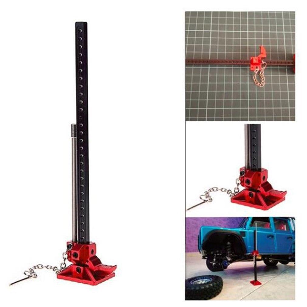 Скользящий металлический домкрат RC Rock Crawler, инструмент для Axial SCX10 TAMIYA CC01 RC4WD D90 D110 TF2 110, регулируемый Высокий подъемник, аксессуары