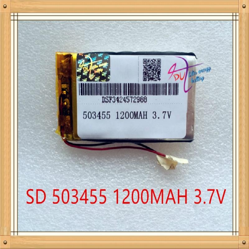 Литровый аккумулятор 3,7 В литий-полимерный аккумулятор 503455 1200 мАч 503356 503456 MP4 MP5 GPS навигатор DVD игровая машина