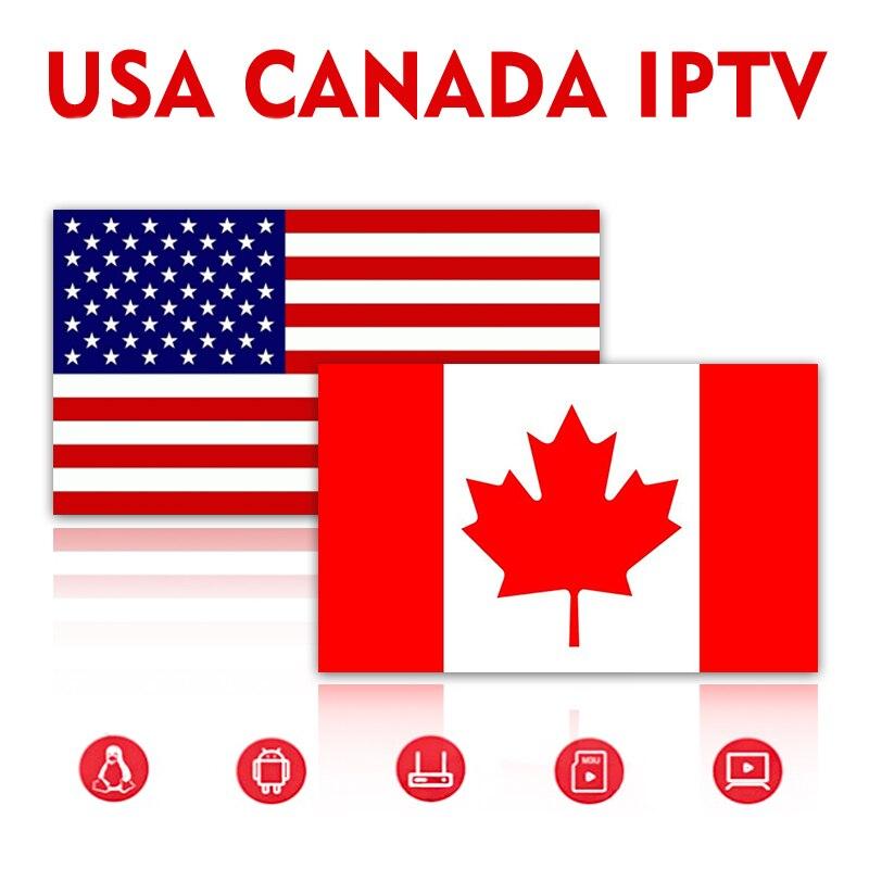 IPTV USA Canadá M3U 4K árabe Alemania Suecia IPTV para España para Smartv TV PC Android