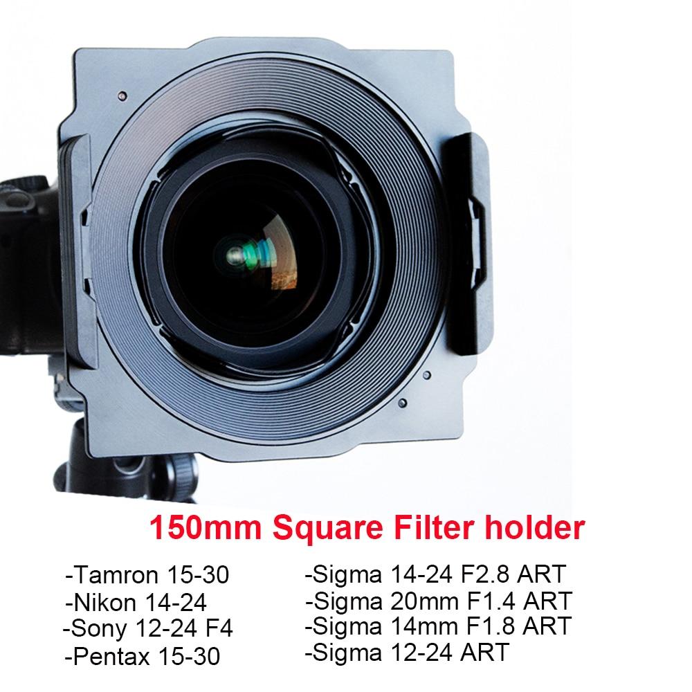 Wyatt de filtro de 150mm soporte de Tamron 15-30mm Nikon 14-24mm Sigma 14-24mm/12-24mm/20mm/14mm sony 12-24mm Pentax 15-30