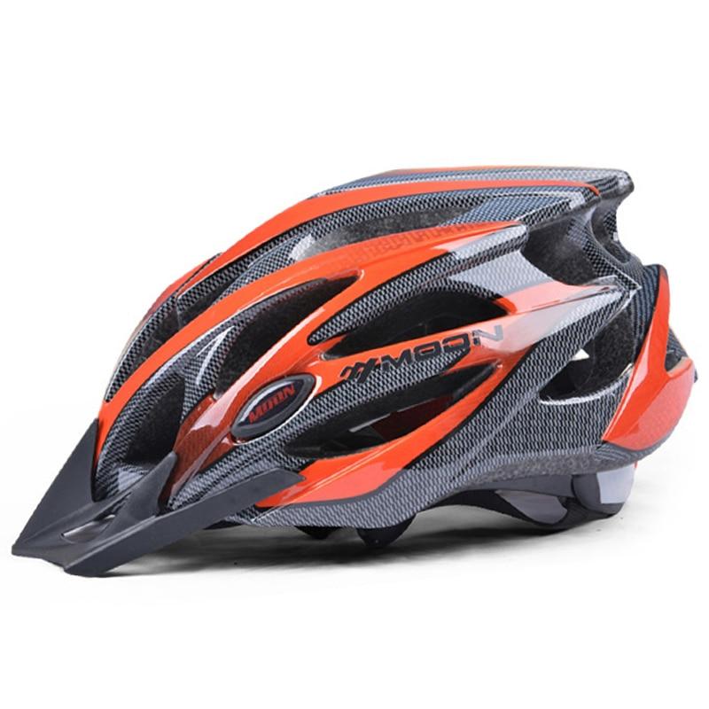 MOON-Casco ultraligero para Ciclismo, para hombre y mujer, 52-64cm