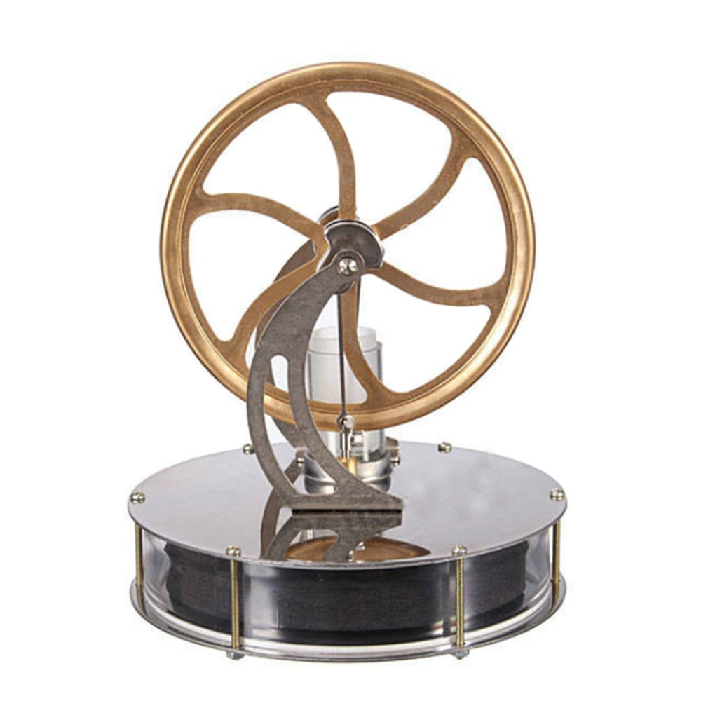 DIY Low Temperature Stirling Engine Motor Model Heat Steam Education DIY Model Toy Gift For Kids Craft Ornament Discovery Toy stirling engine generator engine micro engine model steam engine hobby birthday gift