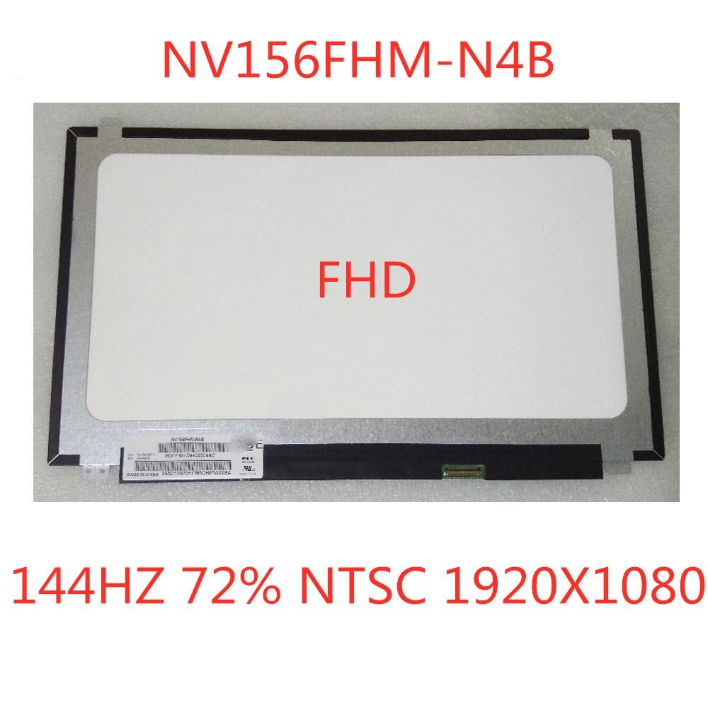 "5 unid/lote para BOE NV156FHM-N4B 144HZ 72% NTSC FHD 1920X1080 matriz LED mate para ordenador portátil 15,6 ""Panel Monitor LCD pantalla reemplazable"