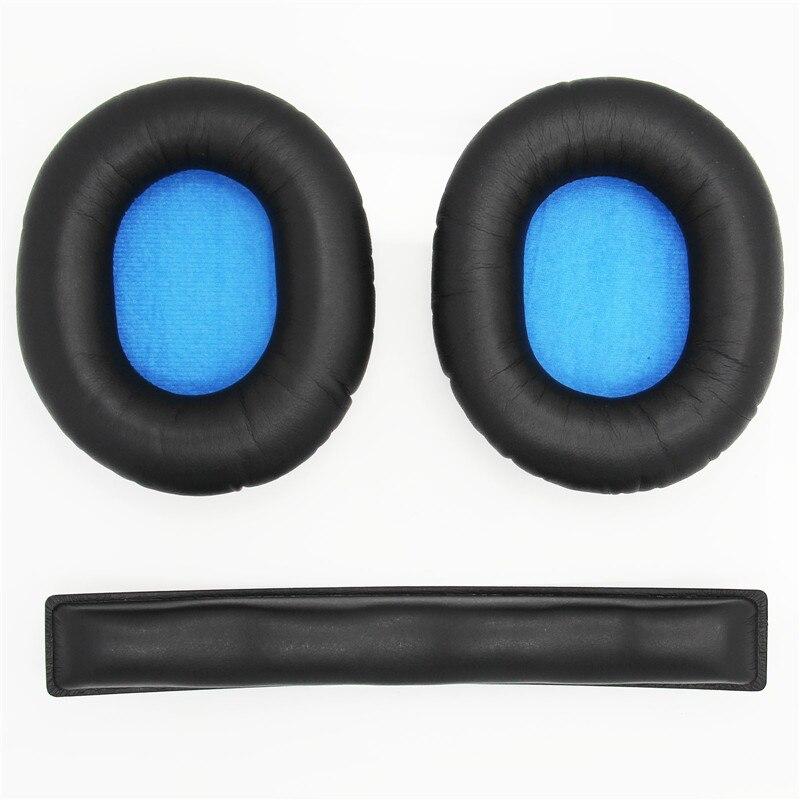 Ohrpolster Für Sennheiser HD8 HD 8 DJ HD6 MIX Kopfhörer Ersatz Memory Schaum Headset Stirnband Ohr Kissen Ohr Tassen Ohr abdeckung