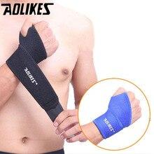 Aolikes 1 pièces bracelet de sport bracelet de sport nouvelle attelle de poignet attelle de soutien de poignet Fractures bracelets de canal carpien pour la remise en forme