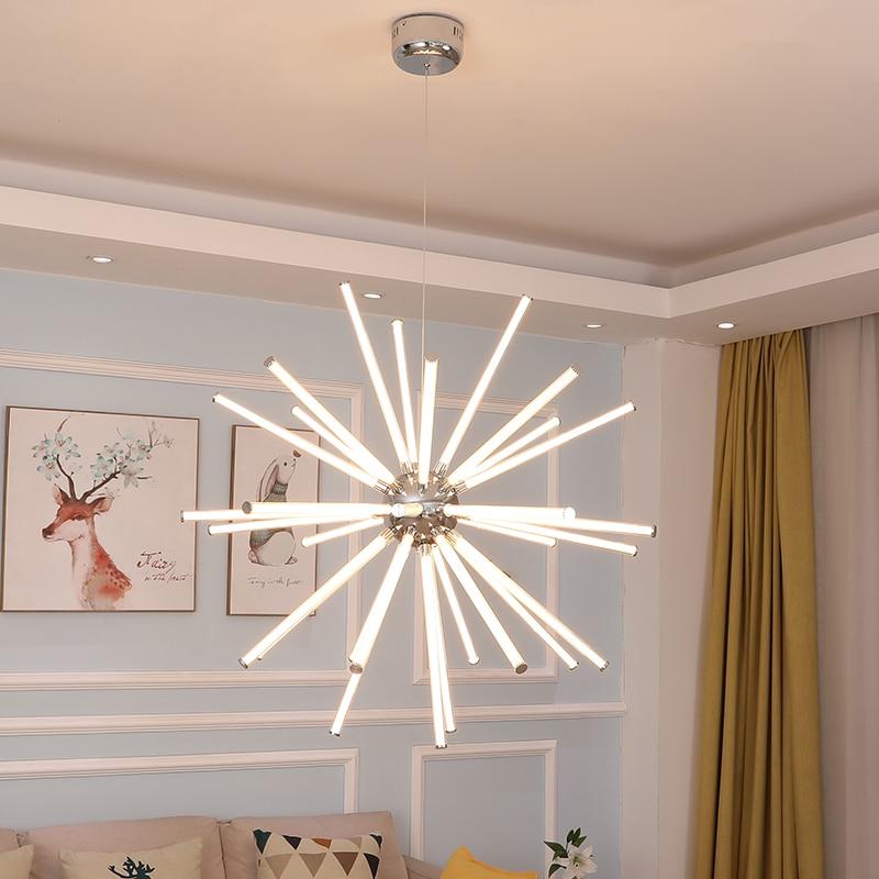 FANPINFANDO Modern Led Chandelier Lighting For Living Room Lobby Loft Chandeliers Bedroom kitchen fixture Round ball lighting