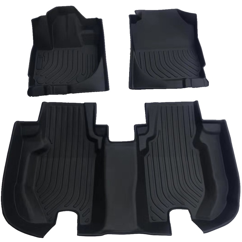 TPE Car Floor Mat for Subaru Crosstrek Impreza XV Car carpet 2016 2017 2018 2019 cars accessories car styling Rubber floor mat