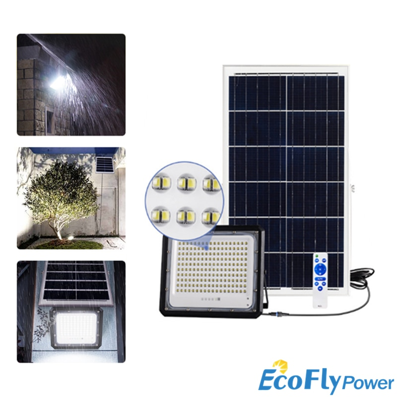 180LED 240LED 360LED High-Power LED Solar Panel Light Super Bright Outdoor Flood Garden Lamp 1000W Waterproof Street Night Light
