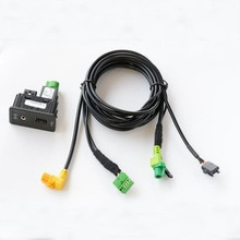Carplay Mdi Usb Aux Ami Installeren Plug Socket Harness Fit Voor Golf 7 Mk7 5G0 035 222 E 5G0035222E