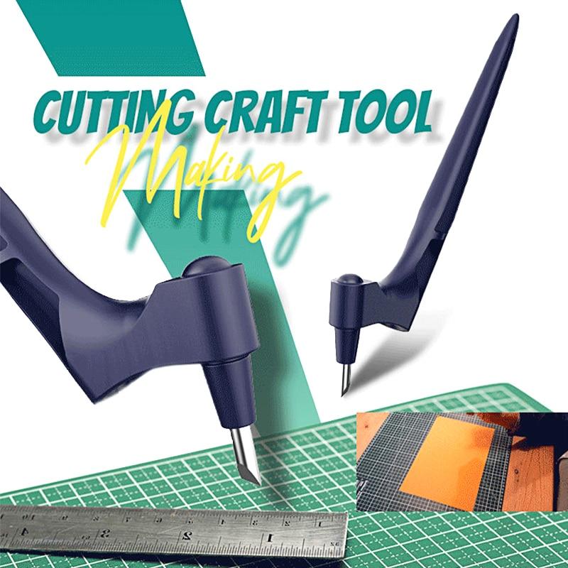 Вращающееся лезвие 360, резак для рукоделия, нож, инструмент, вращающийся на 360 ° стальной резак, резак, нож для бумаги, аксессуары, инструмент ...