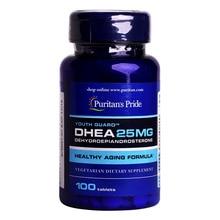 Free shipping DHEA 25 mg DEHYDROEPIANDROSTERONE 100 pcs