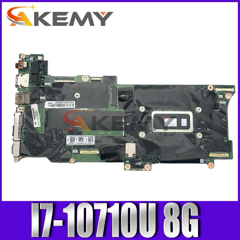 GX490 NM-C661 لينوفو X1C X1 الكربون 8th الجنرال X1 اليوغا 5th الجنرال اللوحة الأم للكمبيوتر المحمول مع وحدة المعالجة المركزية I7-10710U ذاكرة الوصول العشوائي...