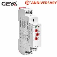 GEYA-relais temporel multifonction   AC220V ou DC12V DC24V DC240V avec 10 fonctions, minuterie 16A SPDT, livraison gratuite