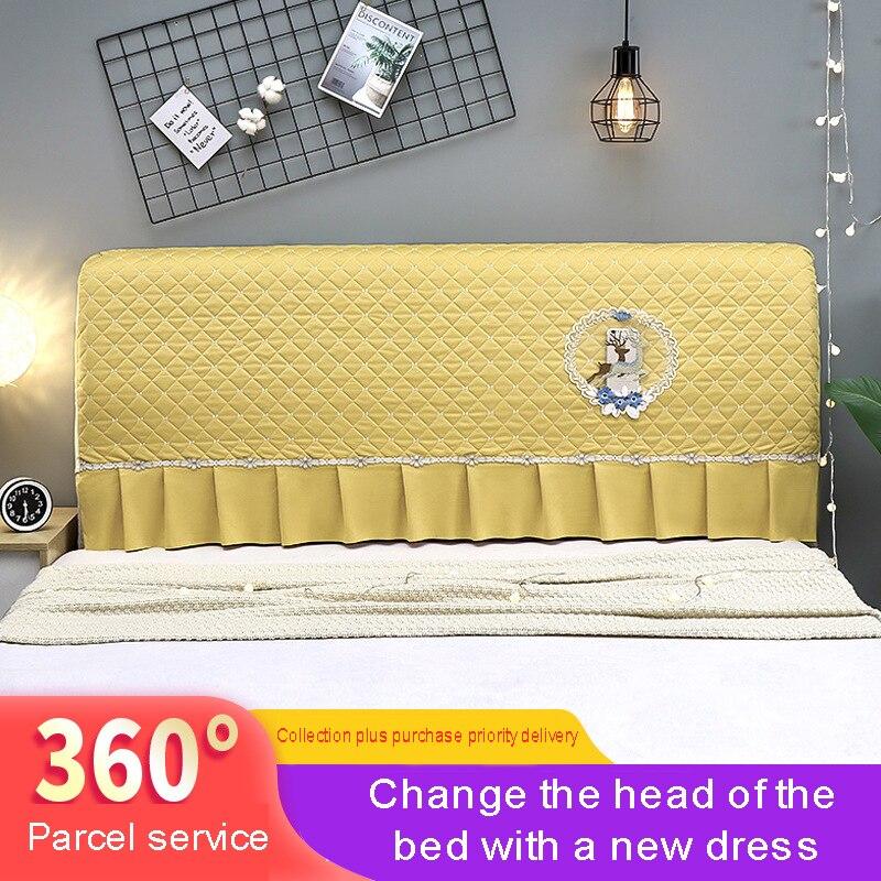الغبار واقية الدانتيل غطاء السرير مرونة أربعة مواسم واحدة ومزدوجة للإزالة وقابل للغسل غطاء السرير أنيقة الطباعة غطاء السرير