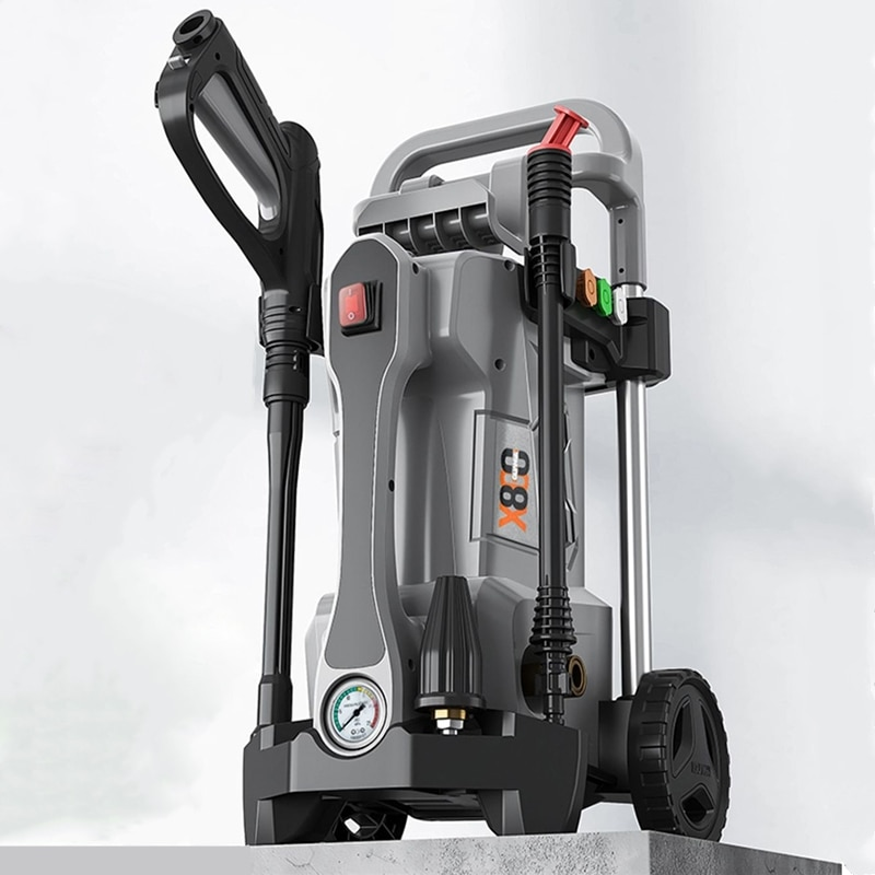 Peak Power 3800W High Pressure Car Washing Machine 150Bar Cleaner Pump Car Washing Water Gun Foam Ge