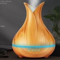400ml humidificateur dair bois leger diffuseur dhuile essentielle bois grain aromatherapie diffuseurs arome brumisateur fabricant 24v lumiere led pour la maison