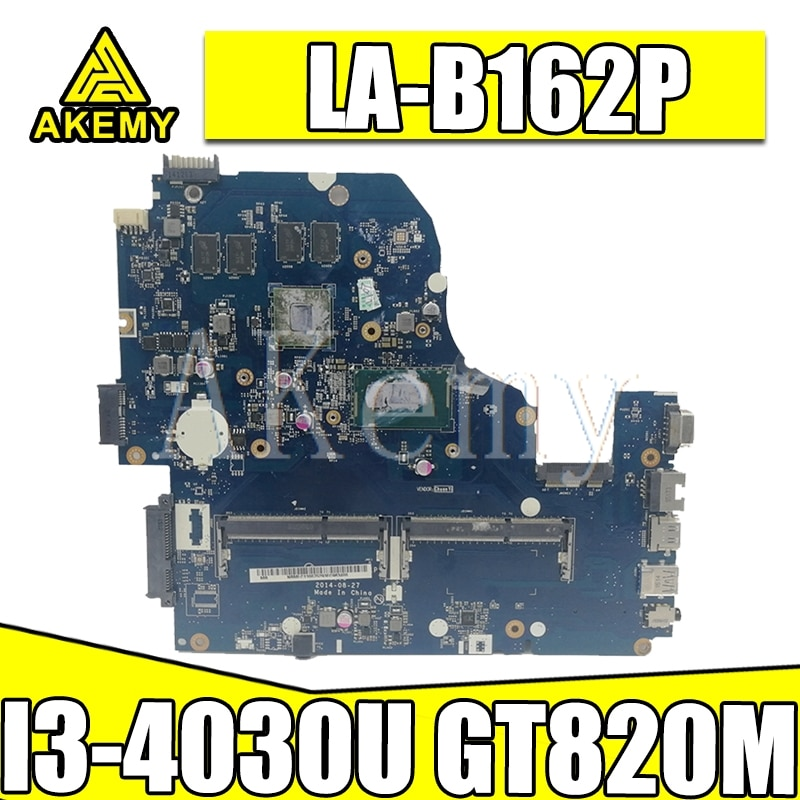 Z5WAH LA-B162P/LA-B991P NBMLC11004 NB. MLC11.004 материнская плата для acer aspire E1-572G E5-571 E5-571G материнская плата I3-4030U 820 м