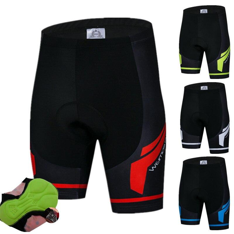 Weimostar profesional ciclismo hombres 4D Gel acolchado MTB bicicleta pantalones a prueba...