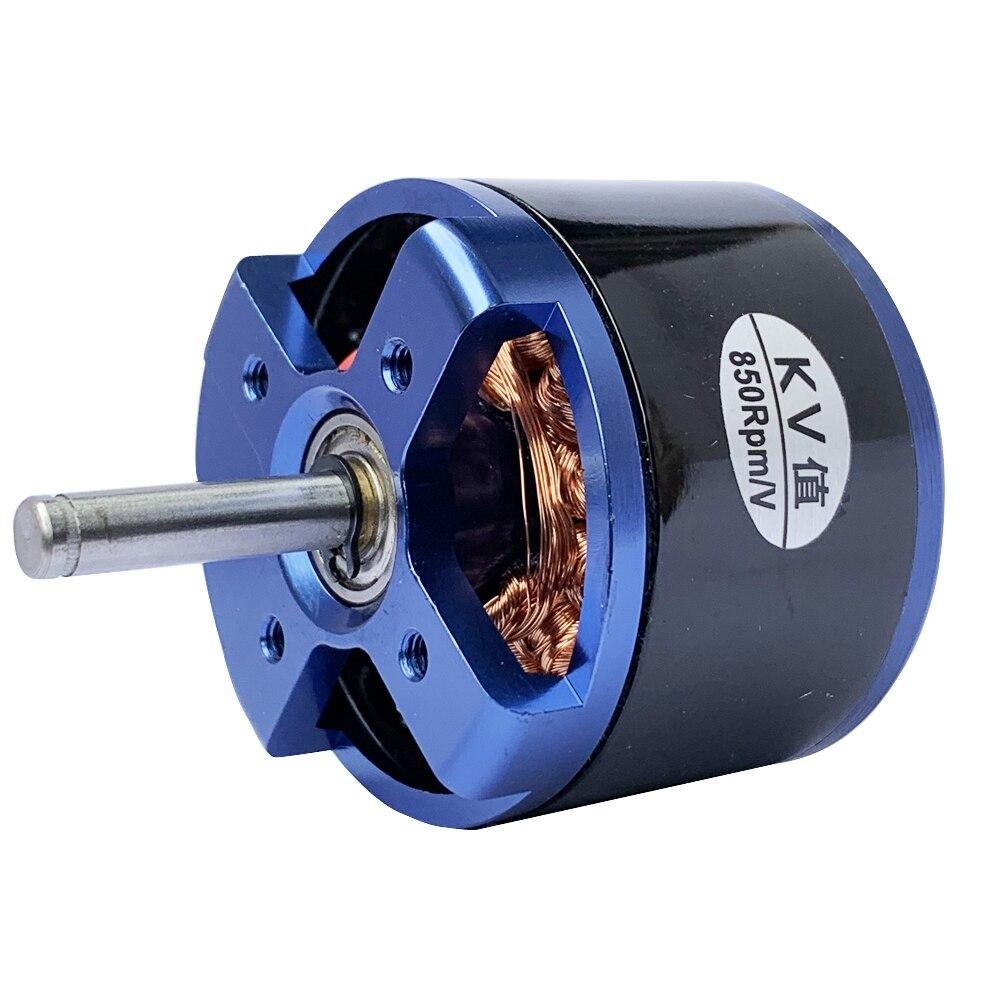 1 ud. 4240 Motor suizo sin escobillas Outrunner DC motor fuerte fuente de alimentación 850KV alto par Motor de Rotor externo con gran empuje