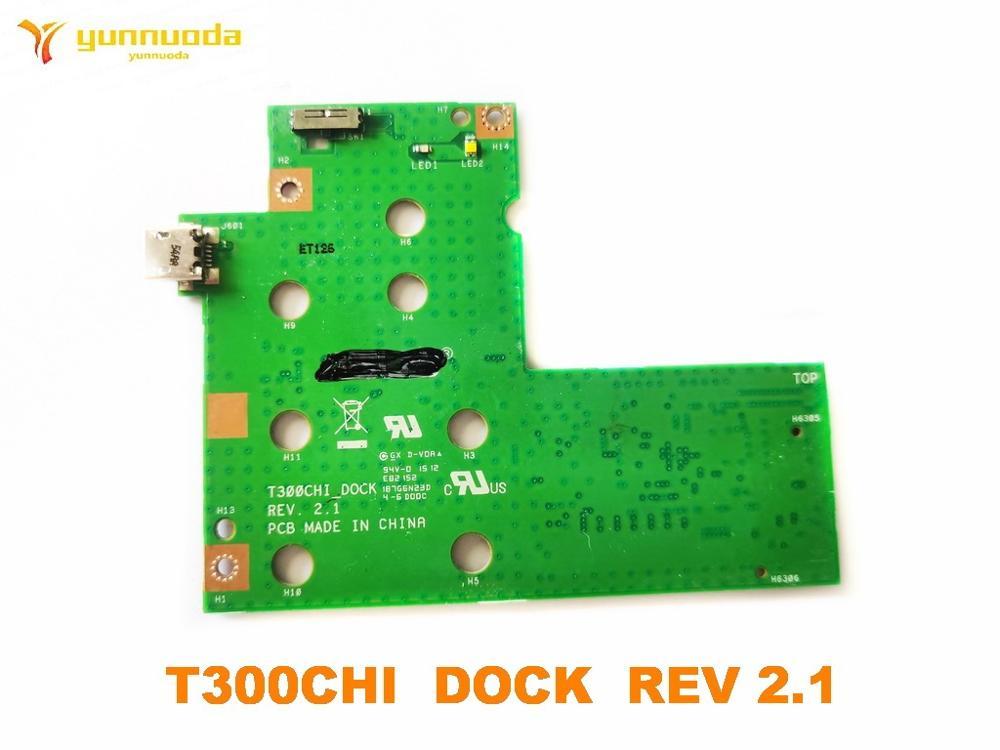 Original para Asus Placa Dock 2.1 Testado Bom Frete Grátis T300chi Usb Rev