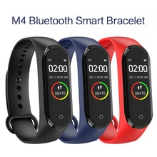 M4 Smart Band Sport Fitness Pedometer Smart Bracelet Color IPS Screen Blood Pressure Wristband Walk Step Counter Men Women Watch