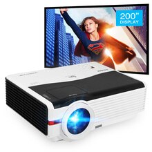 Caiwei A9/A9AB Home Projector Android WiFi LED 1080p Miracast Airplay Full HD Video Beamer Projector