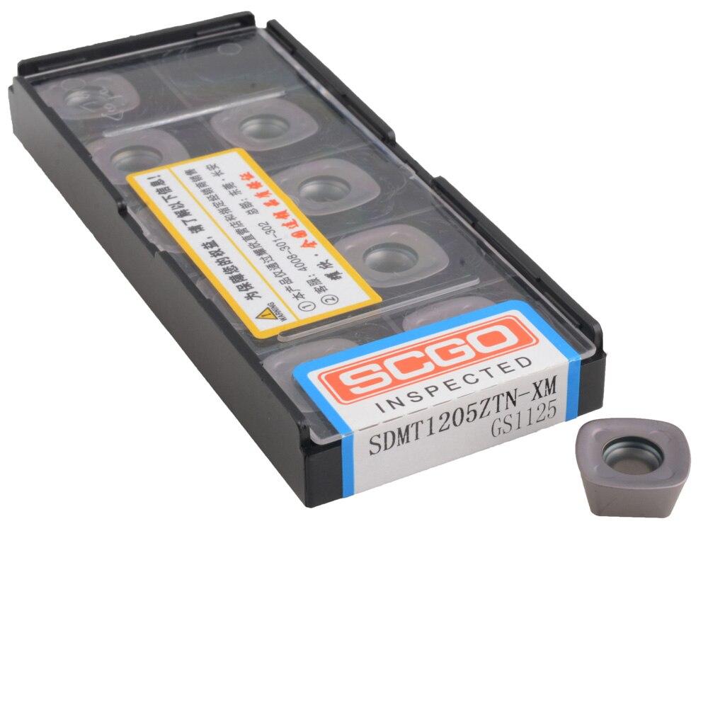 SDMT1205 GS1125 SDMT 1205 للصلب ASRF الوجه قاطعة المطحنة عالية تغذية عالية ملاحق تفريز من الكربيد