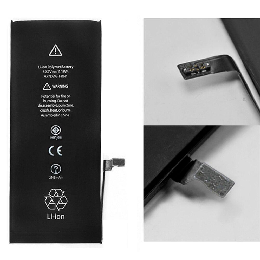 Smart Phone 10Pcs Per Lot Batteries For Apple Iphone 6Plus Internal For Conquest phone Celuaressmartphone Real High Capacity enlarge