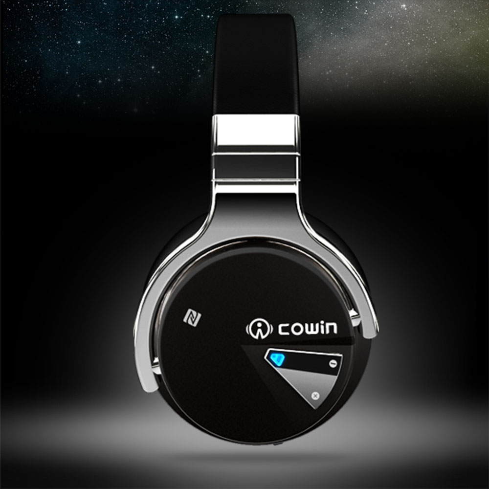 Cowin E-7 Active Noise Cancelling Wireless Bluetooth Headphones Deep Bass Stereo Bluetooth  Headset with Microphone for Phone enlarge