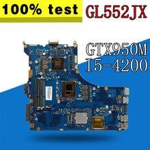 GL552JX carte mère dordinateur portable pour For Asus ROG GL552J ZX50J GL552JX carte mère dordinateur portable mianboard i5-4200HQ GTX950M/2 GB carte Vidoe