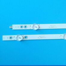 1SET=12PCS LED Backlight Strip 6+6Lamps LB65047 V1_01 210BZ06DRB3030P01L