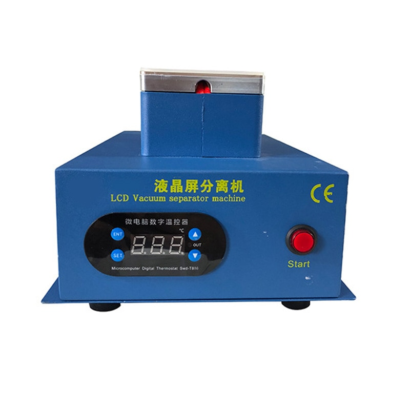 TBK-988 Double Vacuum Pump Manual LCD Assembly Screen Split Separator For OCA Glue Film Removal LCD cover plate separator