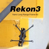 130125mm hglrc rekonfpv 3k carbon fiber 23g 140mm wheelbase petg base rekon 3 3inch nano long range fpv racing drone frame kit