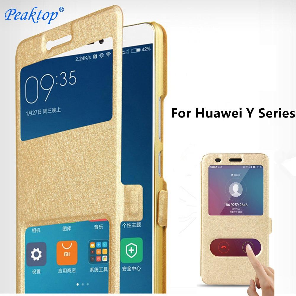 For Huawei Y6 Y7 Y5 Y9 Prime 2019 Y3 2018 2017 2016 Flip Book Case On For Huawei Y 6 3 5 7 9 Prime II Pro 2019 2018 2017 20216 Y