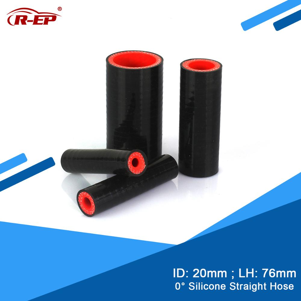 Tubo reto do marceneiro da borracha de R-EP 0 graus mangueira do silicone/tube20mm para a entrada fastene da turbina do tubo da entrada do ar frio do intercooler