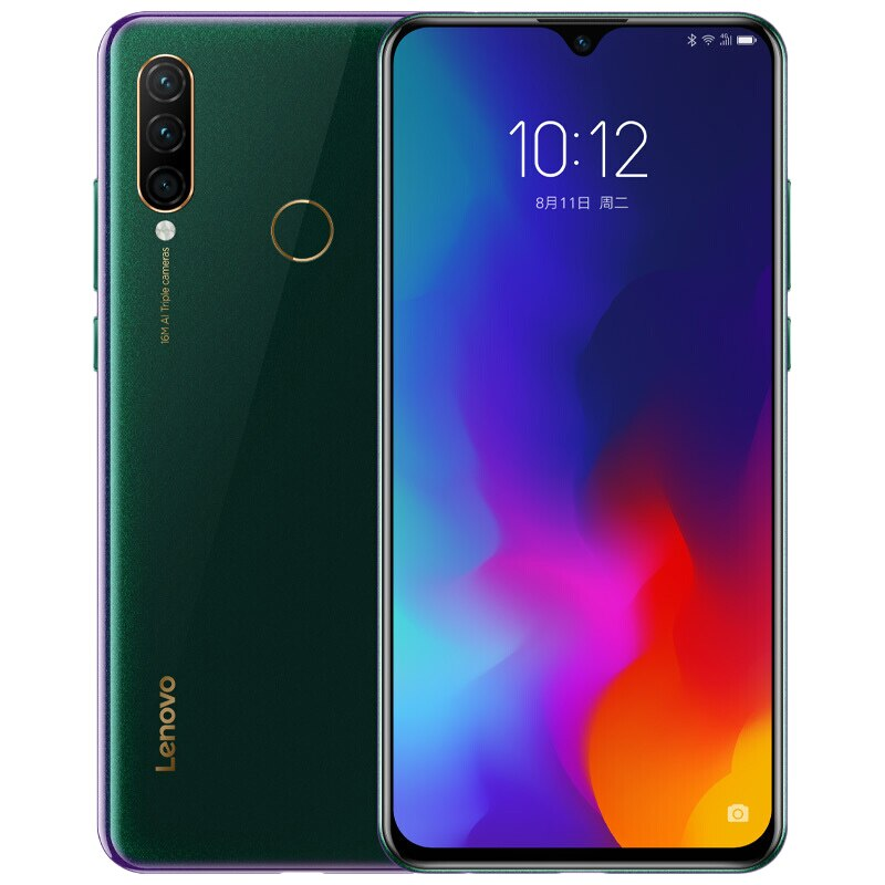 "Lenovo Z6 Lite K10 Note L38111 Global ROM 6GB 64GB 6.3""Smartphone 16MP Triple Cams Snapdragon 710 Octa Core Mobile Phone 4050mAh"