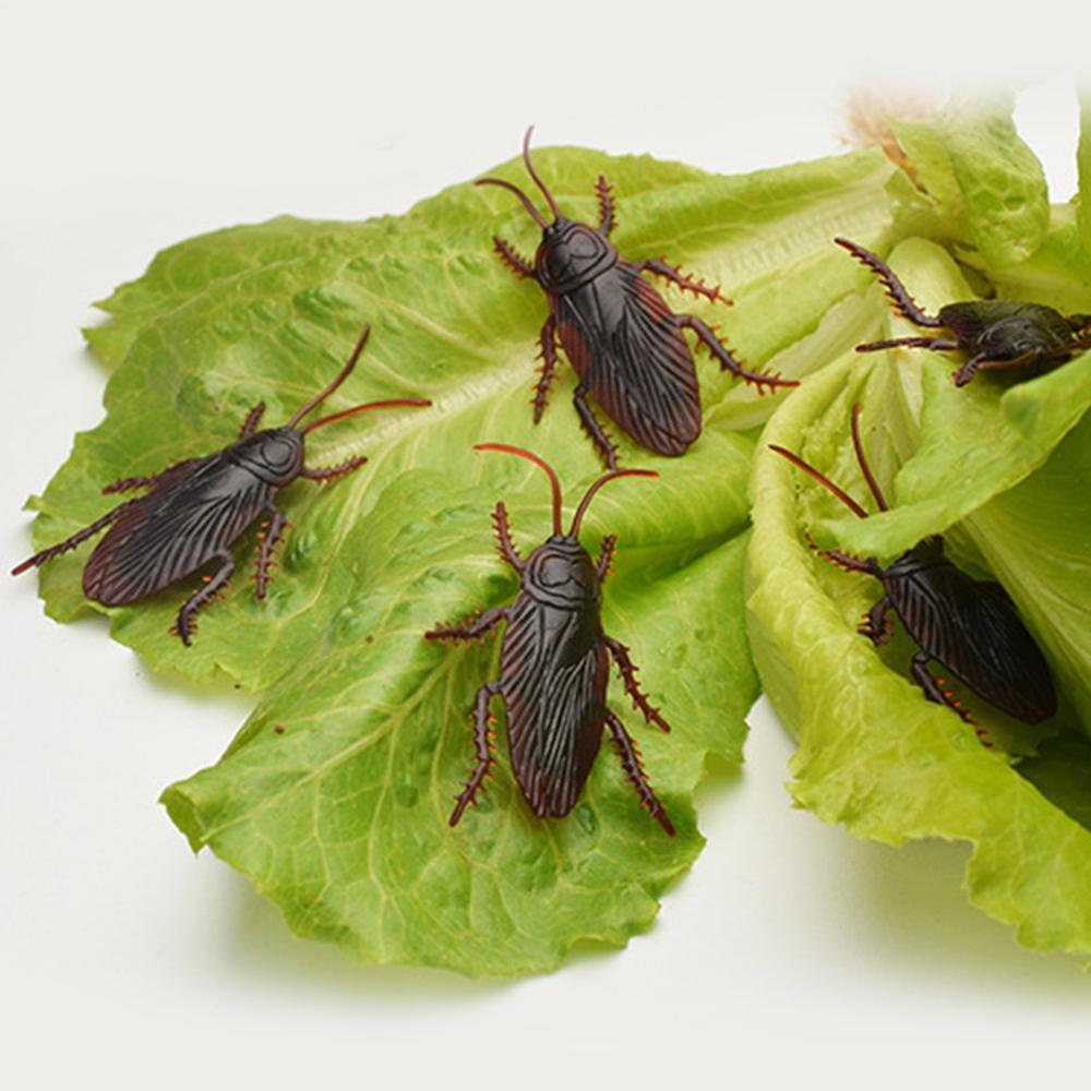 Simulación Día de los niños de Abril juguete falso escorpión Gecko moscas pequeño fuerte todo escorpión cucaracha falsa miedo