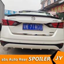 For NISSAN Altima Spoiler 2019-2020 Teana spoiler High Quality ABS Material Car Rear Wing Primer Color Rear Spoiler