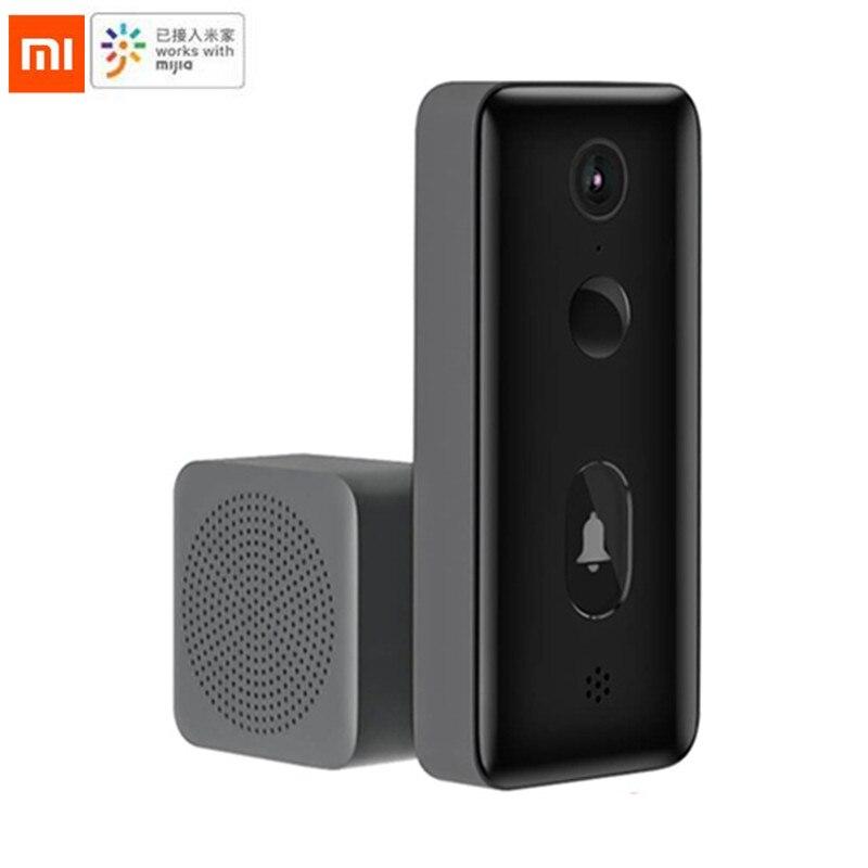 Xiaomi Mijia SMart Video Türklingel 2/lite AI Gesicht Identifizierung Infrarot Nachtsicht Zwei-Weg Intercom Motion Erkennung SMS Push